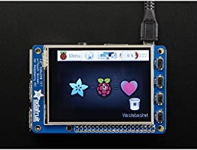 2298-PiTFT Plus 2.8in Resistive Touchscreen for Raspberry Pi