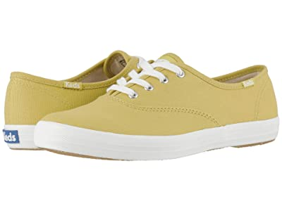 Keds Champion Seasonal Solids (Chartreuse) Women
