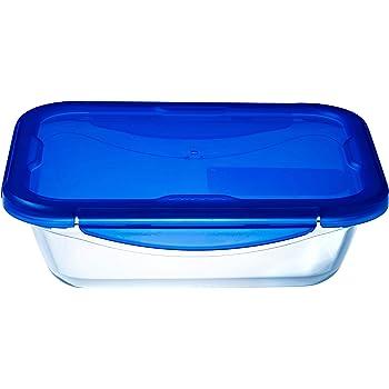 Pyrex Cook/&Freeze Contenitore rett con coperchio  in vetro borosilicato 19 x 14 x 4 cm/_0,8L