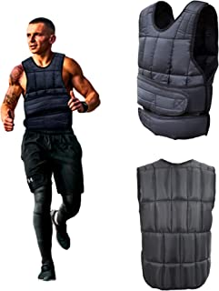 Men Women Adjustable Weighted Vest, 10, 20, 40 lbs Body Weight Sandbag for Cardio Workout Fitness Training