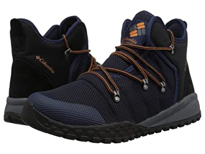 Columbia Fairbanks 503 Mid (Collegiate Navy/Bright Copper) Men