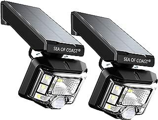 Outdoor Wireless Solar Lights, Intelligent dynami Sensor, 8 LED Lighting Super Bright Motion Sensor Light, Wall Solar Light Outdoor Security Lighting - IP65 Waterproof Solar Light for Patio (2pack)