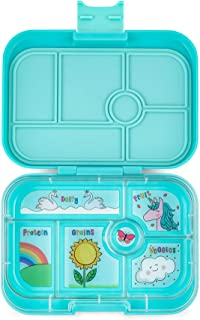 YUMBOX Original Leakproof Bento Lunch Box for Kids (Misty Aqua)