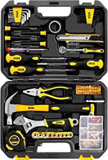 ENTAI Tool Set, 173-Piece Tool Kit for Men Women Home and Household Repair, General Household Hand Tool Set with Solid Car...