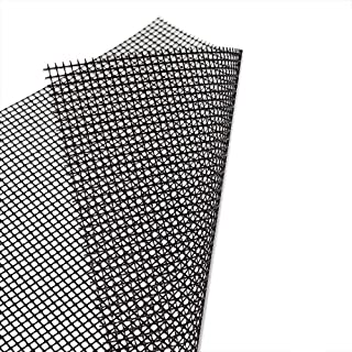 Barbecue Mat Barbecue Grid Mat 6 High Temperature Resistant Non-Stick for Outdoor Cooking Baking Reusable Easy to Clean