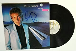 Dennis DeYoung of Styx band REAL hand SIGNED Desert Moon vinyl COA