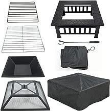 Best square backyard fire pit Reviews