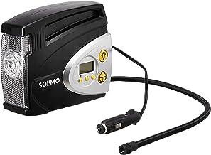 Amazon Brand - Solimo Portable Digital Tyre Inflator (Black)