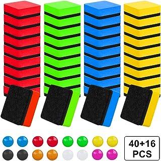 scuola e ufficio Confezione da 5 colori multipli Gomma per lavagna magnetica per casa