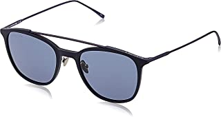 Lacoste Men's Rectangular Plastic Sunglasses