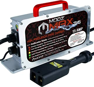 MODZ Max36 15 آمپر EZGO TXT شارژر باتری 36 ولت چرخ دستی های گلف