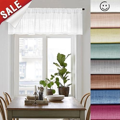 Valances for Bedrooms: Amazon.com