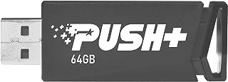 Patriot Push+ USB 3.2 Gen. 1 Flash Drives- 64GB PSF64GPSHB32U
