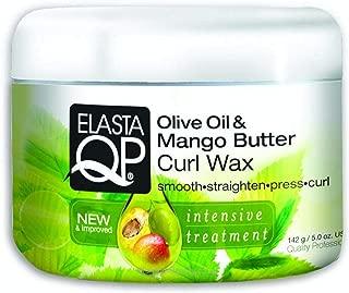Elasta QP Olive Oil& Mango Butter Curl Wax 5 oz