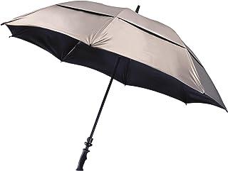 Bag Boy UV Wind Vent Golf Umbrella, Silver