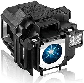 EWO'S Replacement Lamp for Epson Elplp67 EX5210 EX7210 EX3210 EX3212 VS210 VS220 X12 W12 S12 PowerLite Home Cinema 500 707...