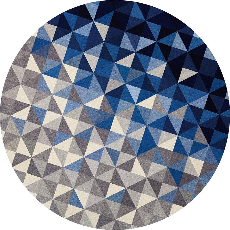 Garantía 100% de ajuste RUG ZI Ling Shop- Alfombra de de de la Sala de Juegos en la Alfombra Azul Ovalada temática para Niños, Niños (Color   C, Tamaño   100cmx100cm)  bienvenido a elegir