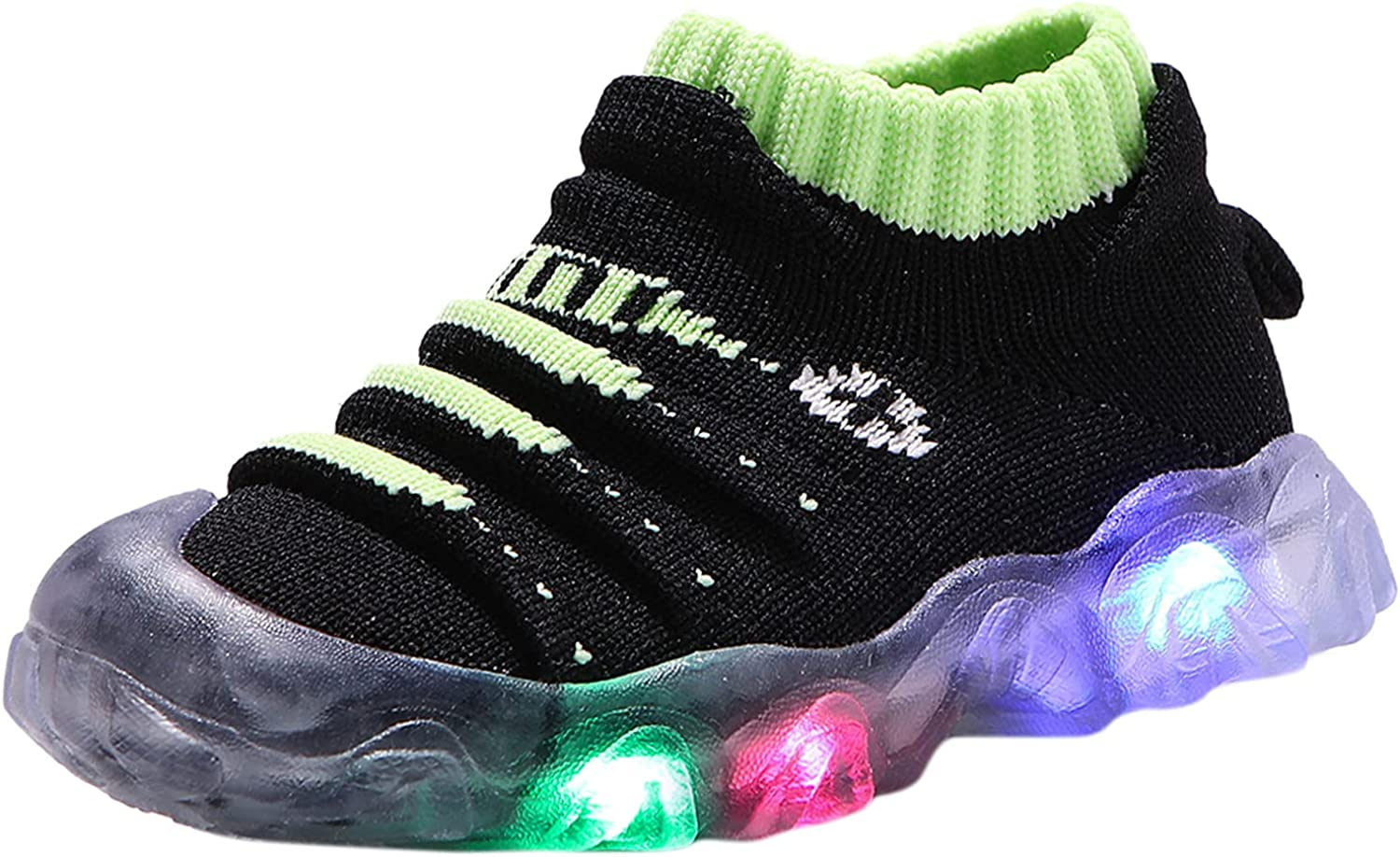 High quality USYFAKGH Kids Light Up Shoes Sneakers Japan's largest assortment for Running Boys Girls Ten