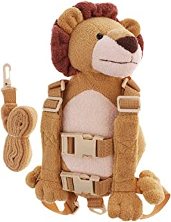 Baoblaze Cute Baby Safety Harness Backpack Toddler Anti-Lost Child Bag - Lion, as Described