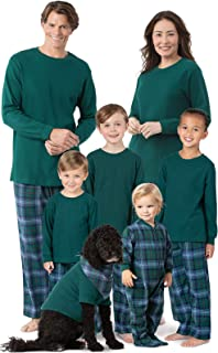 Family Christmas Pajamas Set - Cotton Flannel, Plaid