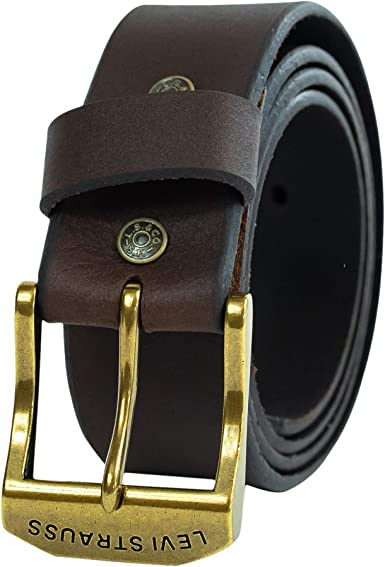 Levi's Men's 1 1/2 in. Oblong Perforated Belt