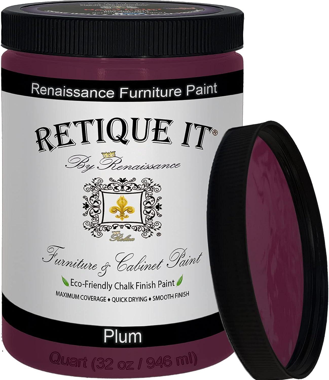 Retique It Chalk Furniture Paint 32 by oz Lowest price challenge Quart Tampa Mall Renaissance