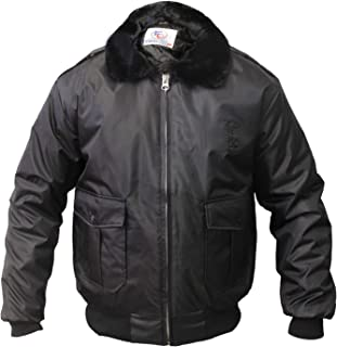 First Class 100% Nylon Oxford Watch-Guard Bomber Jacket