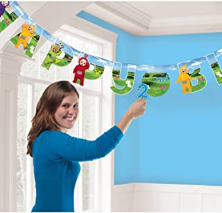 Amscan Teletubbies Add an Age Letter Banner