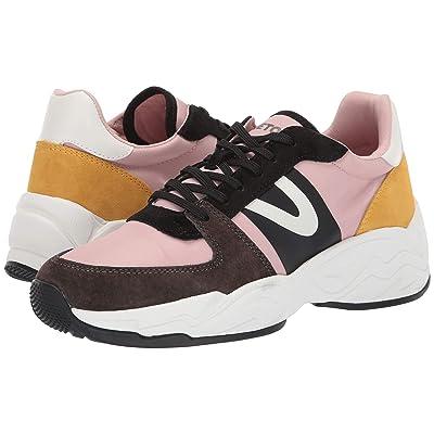 Tretorn Lexie 3 (Oliva/Neutral Pink/Yellow/Black/Black/White) Women