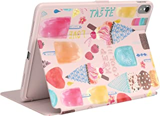 Speck BalanceFolio + Print iPad Case and Stand, for 11-inch iPad Pro, SweetTreat Peach (126050-8228)