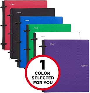 Five Star Flex Hybrid Notebinder, 1-1/2 Inch Binder, Notebook and Binder All-in-One, Color Will Vary (29146)
