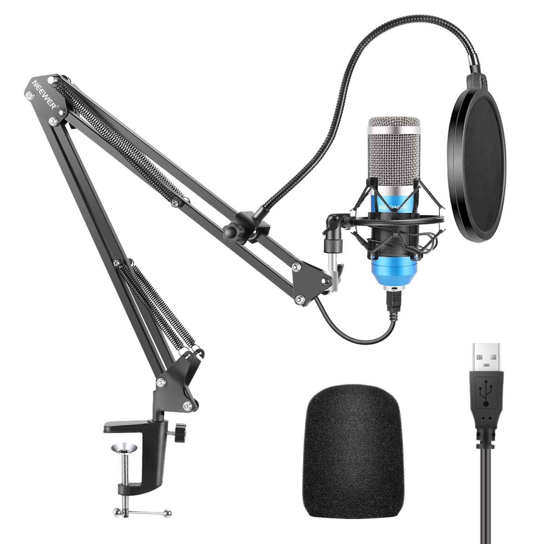 Microfono Neewer NW-8000-USB USB Kit 192KHZ/24BIT Plug&Play