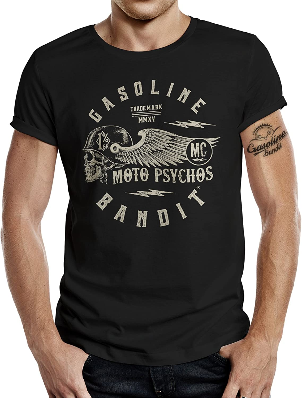 Gasoline Bandit Racer Tank Top Turboskull Camiseta de Tirantes para Hombre