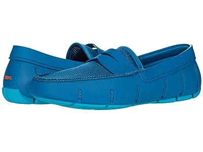 SWIMS Penny Loafer (Sapphire Blue/Capri Blue) Men