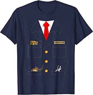 Train Conductor Shirt Costume | Adults | Kids