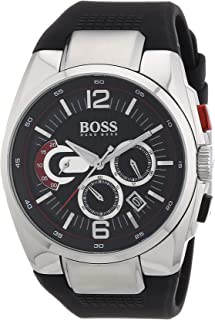 هوغو بوس ساعة كاجوال للرجال ، بسوار سيليكون ، 1512735