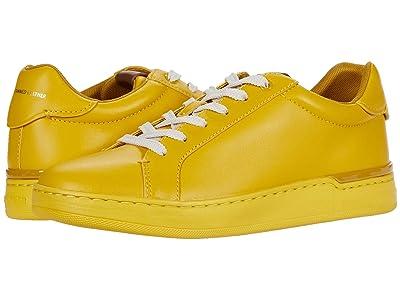 COACH Lowline Low Top (Lemon Glovetanned) Women