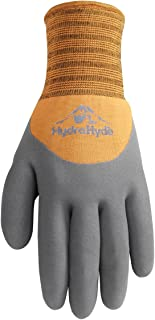 Men's HydraHyde Cold Weather Work Gloves, Water-Resistant Latex Coating, Medium (Wells Lamont 555M)