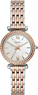 Fossil Women's Carlie Mini Stainless Steel Dress Quartz Watch