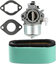 Butom 699831 694941 Carburetor with 496894 496894S Air Filter 272403S Pre-Filter for Briggs and Stratton 283702 283707 284702 284707 284777 Engine Lawnmover Tractor