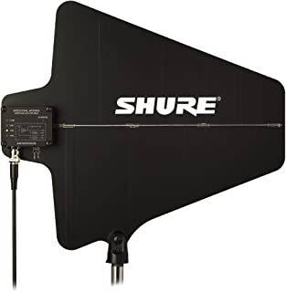 Shure UA874US Active Directional UHF Antenna with Gain Switch (470-698 MHz),Black