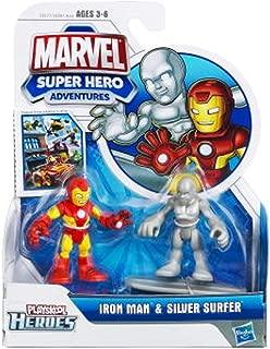 Playskool Marvel Super Hero Adventures Iron Man & Silver Surfer