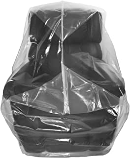 Wowfit Furniture Cover – Dust-Proof Moving Bag for Chairs, Recliners, & Moving Boxes – Clear & Odorless Plastic Bag for Mo...