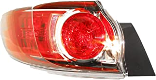 For 2010 2011 2012 2013 Mazda 3 Hatchback Tail Light Taillamp Driver Left Side Replacement MA2800147
