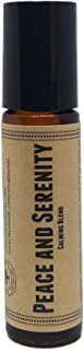 Peace And Serenity Pre-Diluted Essential Oil Roll-On Blend 10ml (1/3oz)   Calming, Anxiety, Improved Sleep, Grief, Stress, Emotional Support