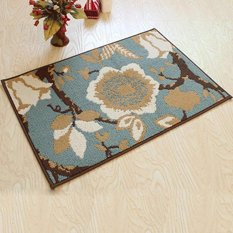 Door Matt Indoor Non Slip Hard Wearing Barrier Mat Door Porcelain Mattress Door Mat Thicker Anti-Skid Absorbent Pad, Kejing, 80  110cm,