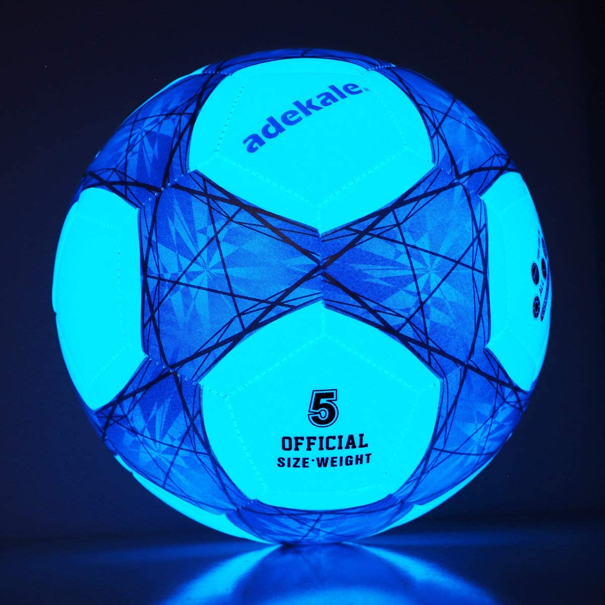 adekale Glow All items free shipping in The Dark Ranking TOP20 Size 4 up 5 Light Soccer Ball Socc Star
