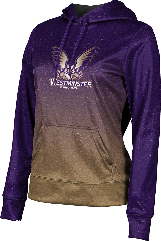 ProSphere Westminster College Girls' Pullover Hoodie, School Spirit Sweatshirt (Ombre)