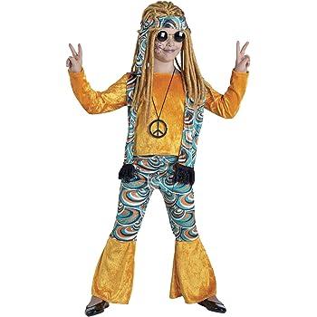 chiber Disfraces Disfraz de Hippie para Niña (Talla 10): Amazon.es ...