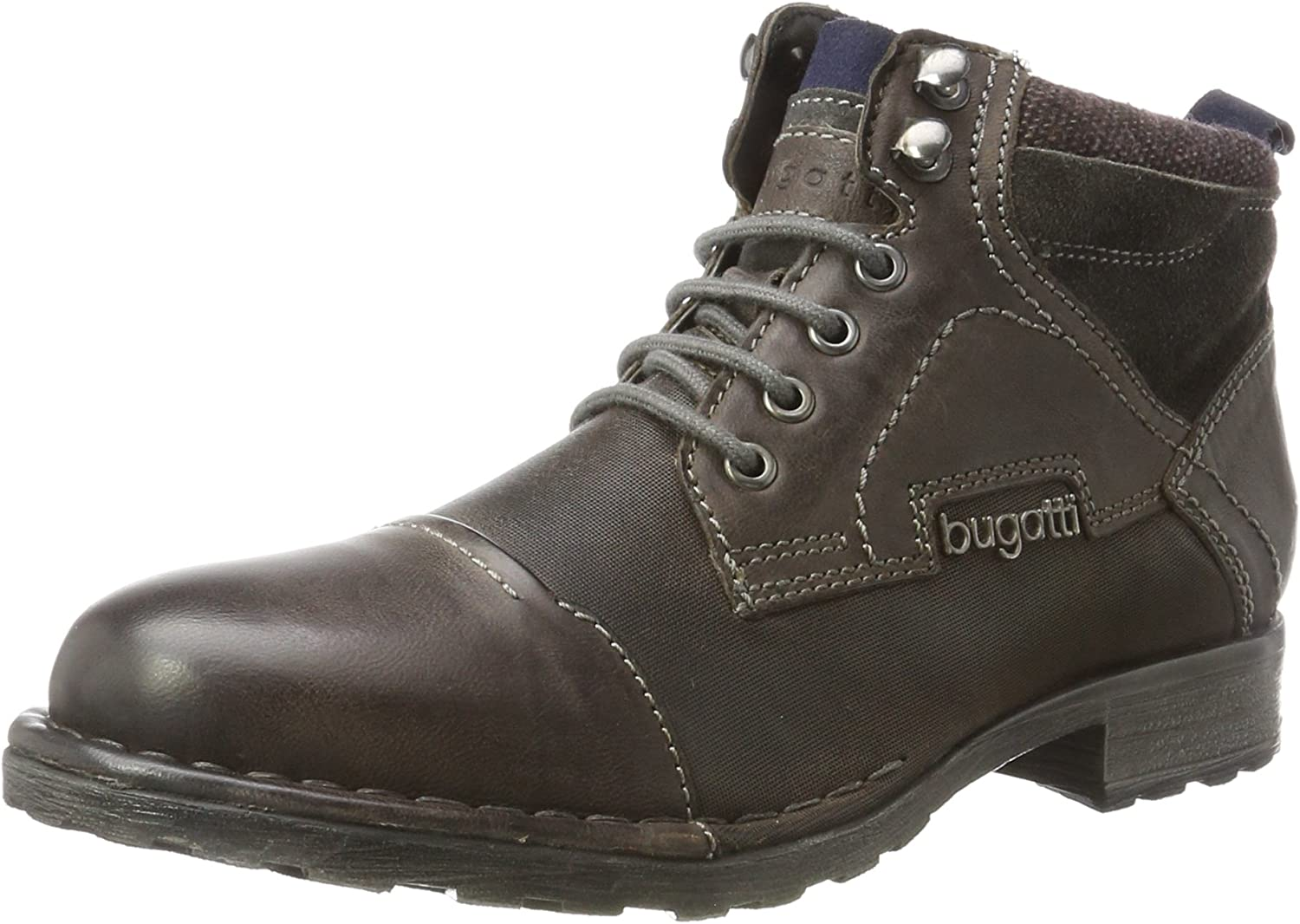 Bugatti Men Boots Grey, (Dark Grey) 321343503200-1100